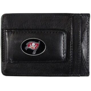 NFL Tampa Bay Buccaneers Leather Cash Cardholder