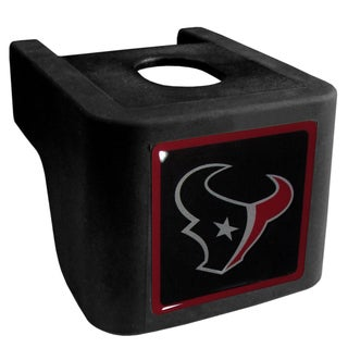 NFL Houston Texans Black Shin Shield Hitch Cover