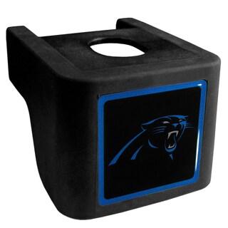 NFL Carolina Panthers Black Shin Shield Hitch Cover