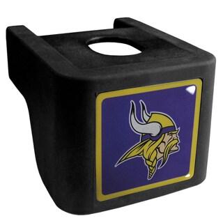 NFL Minnesota Vikings Black Shin Shield Hitch Cover