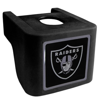 NFL Oakland Raiders Black Shin Shield Hitch Cover