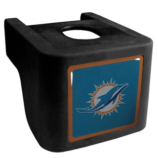 NFL Miami Dolphins Black Shin Shield Hitch Cover
