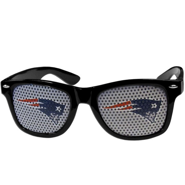 NFL New England Patriots Black Game Day Shades