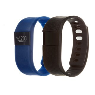 Zunammy Navy Blue Health and Fitness Activity Tracker Watch w/ Extra Band