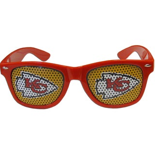 NFL Kansas City Chiefs Red Plastic Game Day Shades