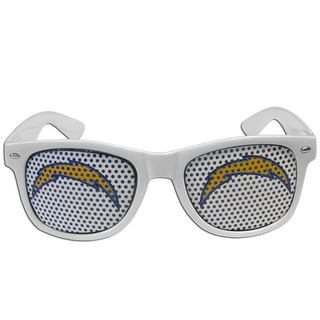 NFL San Diego Chargers White Game Day Shades
