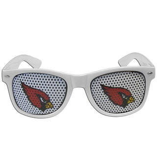 NFL Arizona Cardinals White Plastic Game Day Shades