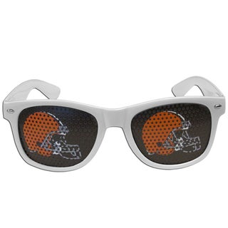 NFL Cleveland Browns White Plastic Game Day Shades