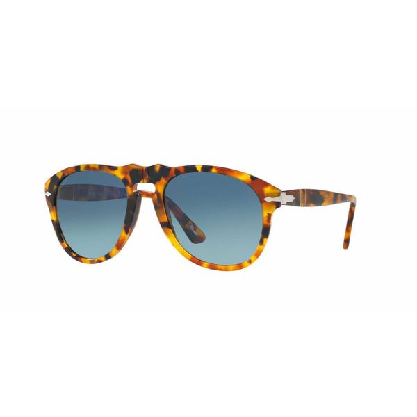 bbd34877820 Shop Persol Mens PO0649 1052S3 Havana Plastic Cateye Sunglasses - Free  Shipping Today - Overstock.com - 13474257