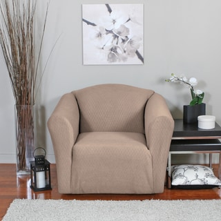 Diamond Stretch Chair Slipcover