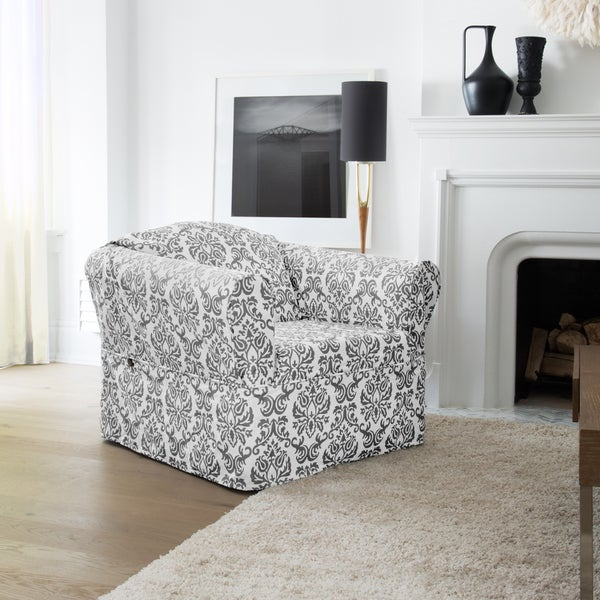 Chelsea Wrap-style Chair Slipcover. Opens flyout.