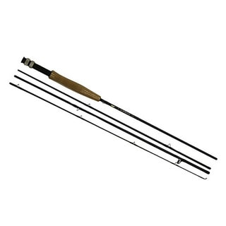 Fenwick AETOS Black/Brown Aluminum 8-foot Fly fishing Rod