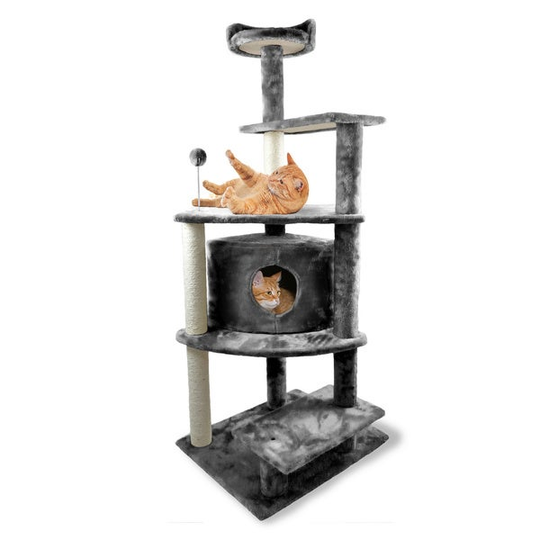Tiger Tough Platform House Playground Cat Tree