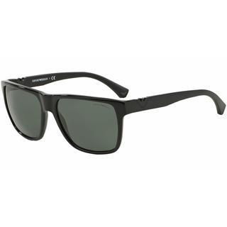 Emporio Armani Mens EA4035 501771 Black Plastic Square Sunglasses