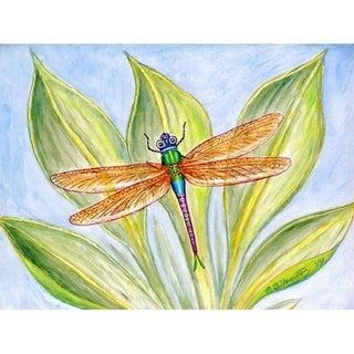 Betsy Drake Dragonfly Polyester Place Mats (Pack of 4)