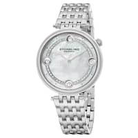 Stuhrling Original Women's Quartz Crystal Stainless Steel Link Btacelet Watch