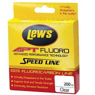 Lews Fishing APT Fluorocarbon Speed Line