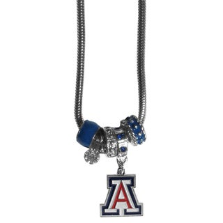 Collegiate Arizona Wildcats European-style Bead Necklace
