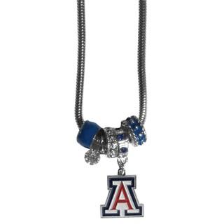 Collegiate Arizona Wildcats European-style Bead Necklace (Option: Arizona Wildcats)