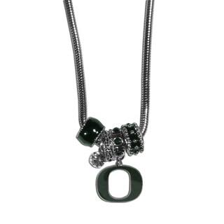 Collegiate Oregon Ducks Euro Bead Necklace