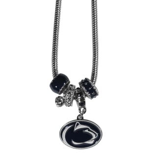 Collegiate Penn St. Nittany Lions Euro Bead Necklace