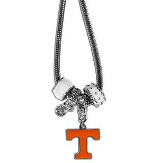 Collegiate Tennessee Volunteers Euro Bead Necklace