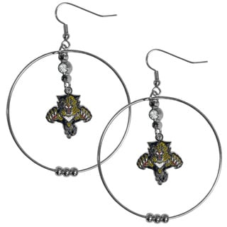 NHL Florida Panthers 2-inch Hoop Earrings
