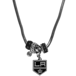 NHL Los Angeles Kings Euro Bead Necklace