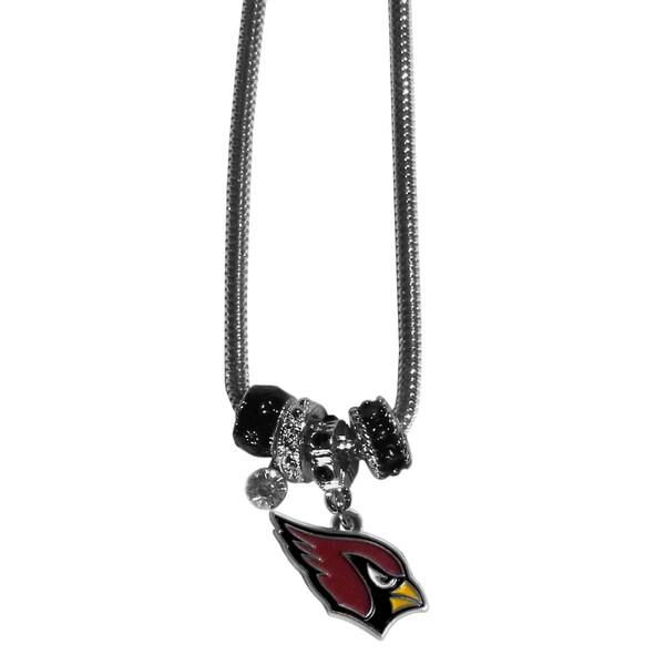 NFL Arizona Cardinals Euro Bead Necklace