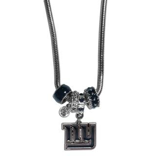NFL New York Giants Euro Bead Necklace