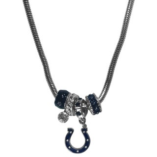 NFL Indianapolis Colts Euro Bead Necklace