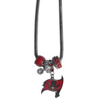 NFL Tampa Bay Buccaneers Euro Bead Necklace