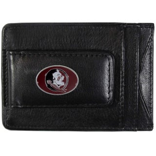 Collegiate Florida St. Seminoles Leather Cash and Card Holder