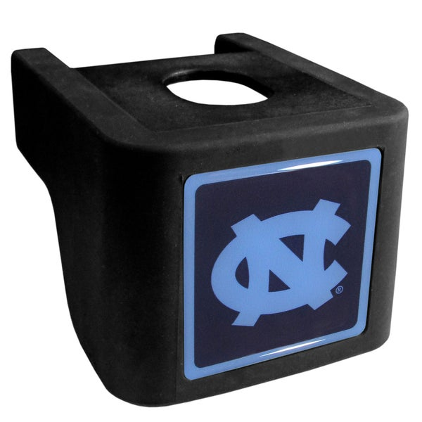 Collegiate North Carolina Tar Heels Black Shin Shield Hitch Cover