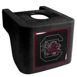 Collegiate S. Carolina Gamecocks Black Shin Shield Hitch Cover