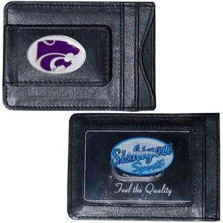 Collegiate Kansas St. Wildcats Leather Cash and Cardholder