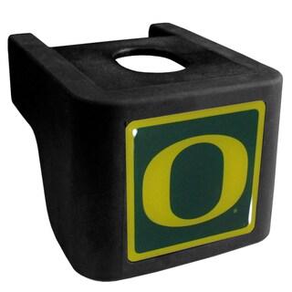 Collegiate Oregon Ducks Black Shin Shield Hitch Cover