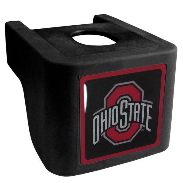 Collegiate Ohio St. Buckeyes Black Shin Shield Hitch Cover