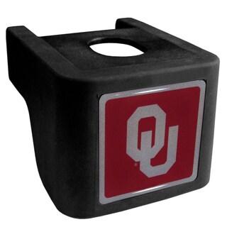 Collegiate Oklahoma Sooners Black Shin Shield Hitch Cover