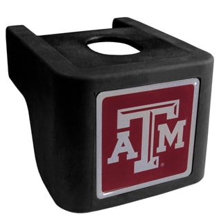 Collegiate Texas A M Aggies Black Shin Shield Hitch Cover