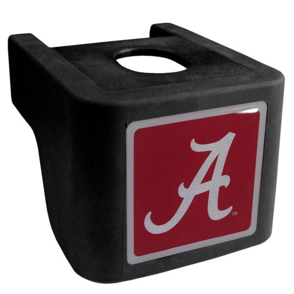 Collegiate Alabama Crimson Tide Black Shin Shield Hitch Cover
