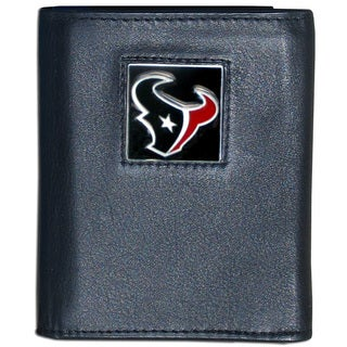 NFL Houston Texans Leather Tri-fold Wallet
