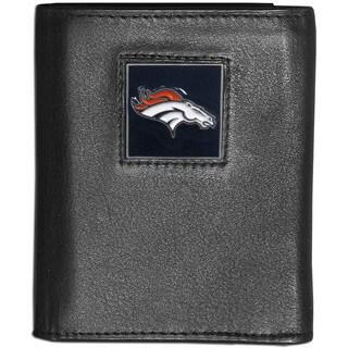 NFL Denver Broncos Leather Tri-fold Wallet