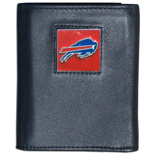 NFL Buffalo Bills Leather Tri-fold Wallet