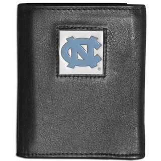 Collegiate North Carolina Tar Heels Leather Tri-fold Wallet