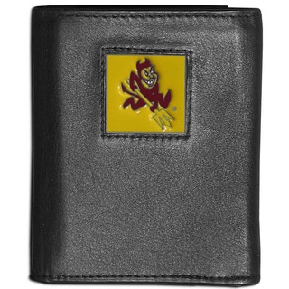 Collegiate Arizona State Sun Devils Leather Tri-fold Wallet