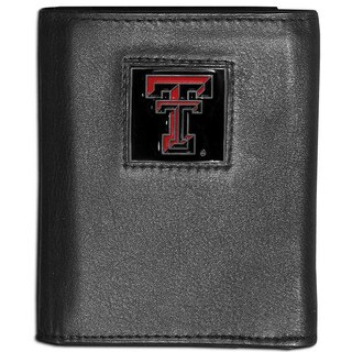 Collegiate Texas Tech Raiders Leather Tri-fold Wallet