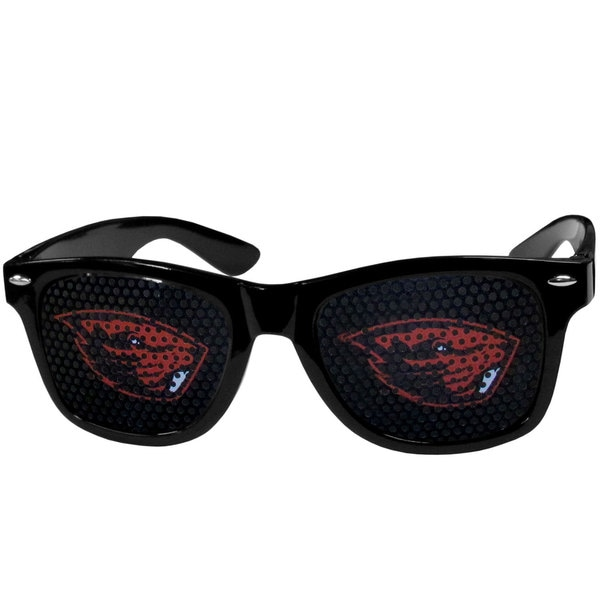 Collegiate Oregon St. Beavers Black Game Day Shades