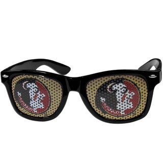 Collegiate Florida St. Seminoles Black Game Day Shades