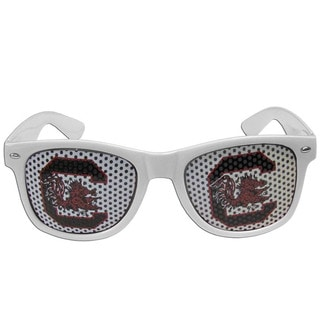 Collegiate South Carolina Gamecocks White Plastic Game Day Shades